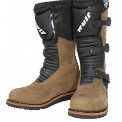 WULFSPORT STIVALE TRIAL MARRONE (VERSIONE JUNIOR E ADULTO)