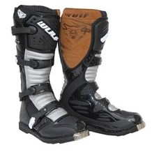 WULFSPORT STIVALE CROSS SUPER BOOT LA NERO