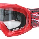 WULFSPORT JUNIOR MASCHERINA ABSTRACT ROSSA