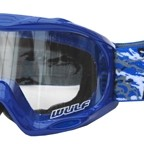 WULFSPORT JUNIOR MASCHERINA ABSTRACT BLU