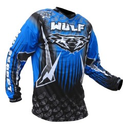 WULFSPORT TRIALS SHIRT BLU