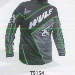 WULFSPORT TRIALS SHIRT VERDE