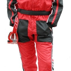 WULFSPORT CAR RACING SUIT ROSSO