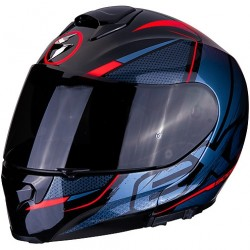 SCORPION EXO-3000 AIR CREED BLACK-RED