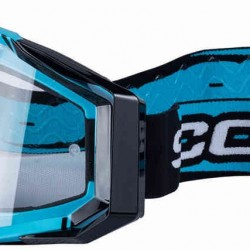 SCORPION MASCHERA OFF-ROAD CELESTE-NERO