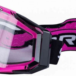 SCORPION MASCHERA OFF-ROAD ROSA-NERO